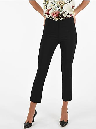 Ql2 Quelledue High-Waist Slim Fit Capri MONET Pants Größe 40