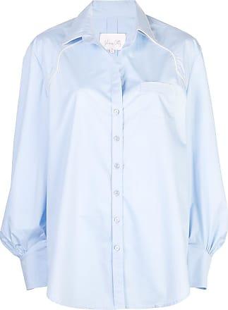 Johanna Ortiz piped shirt - Azul
