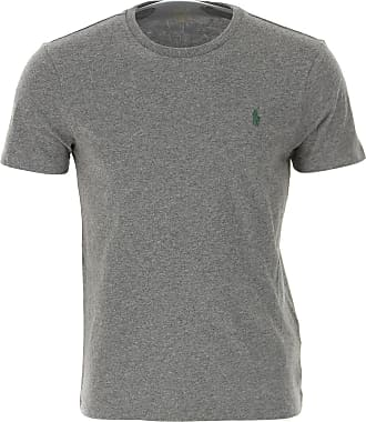 Ralph Lauren T-Shirt Uomo On Sale, Medium Grey, Cotone, 2019, S XS XXL