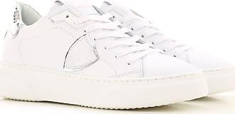 Philippe Model Sneaker für Damen, Tennisschuh, Turnschuh Günstig im Sale, Weiss, Leder, 2019, 36 37 38 39 40