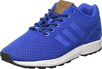 more photos 58ef8 cd81f adidas ZX Flux, Baskets Basses Homme, Bleu BlueFootwear White, 46 EU