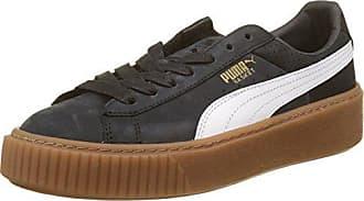 d0eb9323e909c2 Puma Puma Basket Platform Perf Gum, Scarpe da Ginnastica Basse Donna, Nero  Black-