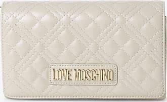 Love Moschino Damen Umhängetasche beige