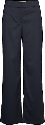 Navy blue Dena 658 Wide Bukse  FIVEUNITS  Vide ben - Dameklær er billig