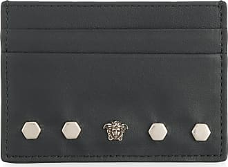 Versace business card holders sale at usd 8300 stylight versace medusa cardholder black colourmoves
