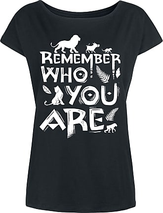 676900483ac229 Disney Remember Who You Are - T-Shirt - schwarz