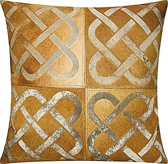 Nourison Mina Victory S6113 Amber Decorative Pillow, 20 x 20