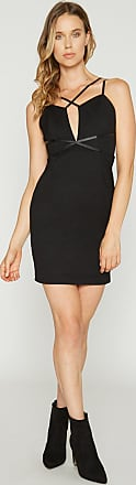 Alloy Apparel Natalia Body Con Mini Dress Black Size XL/T