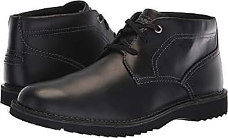 Rockport Mens Cabot Chukka Boot, black/black, 8 M US