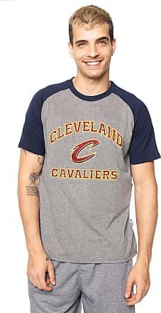 NBA Camiseta NBA Cleveland Cavaliers Cinza