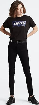 Levi's 721 High Waisted Skinny Jeans - Black