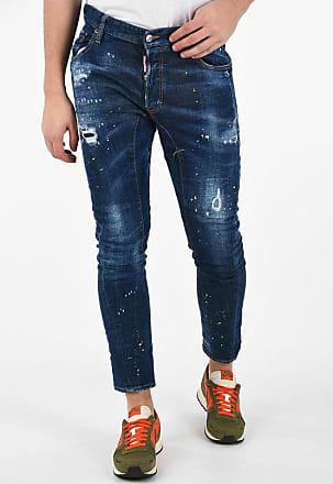 Dsquared2 17 cm Vintage Effect TIDY BIKER Jeans size 52