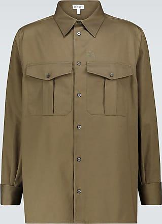 Loewe Hemdjacke aus Baumwolltwill