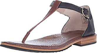 Bogs Womens Memphis Thong Leather Sandal, Cinnamon, 9.5 M US