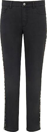 Emilia Lay Jeans leopard-print stripe Emilia Lay denim