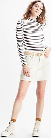Levi's Iconic Deconstructured Skirt - Cream / Cream