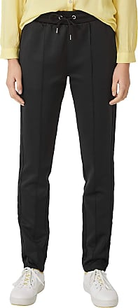 Q/S designed by - s.Oliver Womens 41.902.73.2096 Trousers, Black (Black 9999), W28