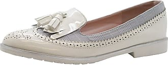 Saute Styles Ladies Womens Flats Tassel Tartan Brogues Loafers School Office Pumps Shoes Size 5