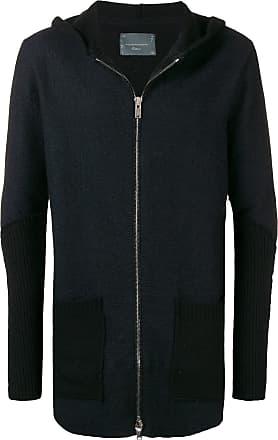 10sei0otto knitted zip jacket - Preto