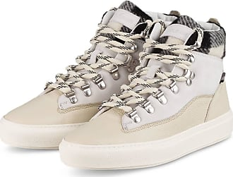 Woolrich Hightop-Sneaker - BEIGE/ HELLGRAU