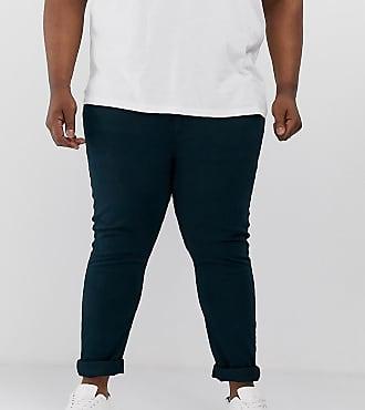Farah Drake - Schmal geschnittene Jeans in Blau