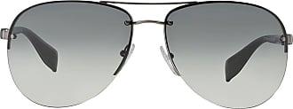 Prada Óculos de sol modelo Aviador - Cinza