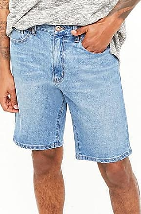 21 Men Classic Denim Shorts at Forever 21 Denim Washed