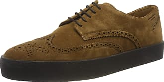 Vagabond Mens Luis Brogues, Brown (Cognac 27), 10.5 UK