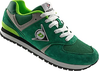 Dunlop Trainers for Men and Women - Casual Athletic Old School Classic Sneaker - Slip-Resistant Work Shoe Green