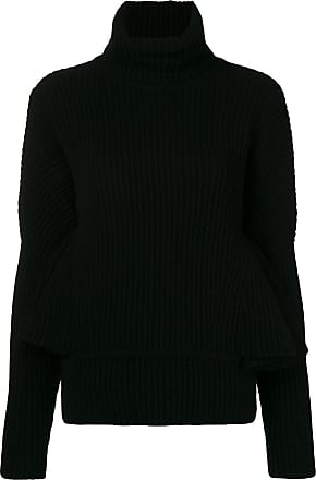 Antonio Berardi ruffle sleeve sweater - Black