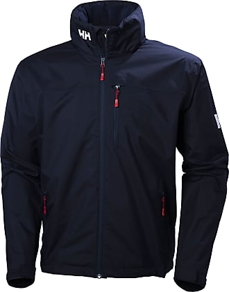 Helly Hansen Mens Crew Hooded Jacke Jacket, Blue, Xx-Large