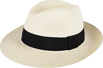 Hat To Socks Panama Style Fedora Hat (M, 57 cm) Beige