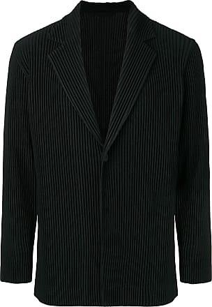 Homme Plissé Issey Miyake tailored blazer jacket - Black