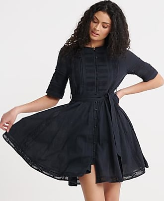 Superdry Ellison Textured Lace Dress