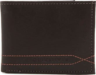 Quiksilver Carteira Quiksilver Stitchy Wallet V Marrom