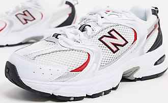 New Balance 530 - Sneaker in Weiß, Silber und Rot