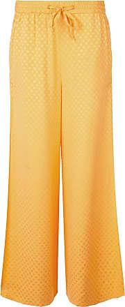 Onia chloe wide trousers - Orange