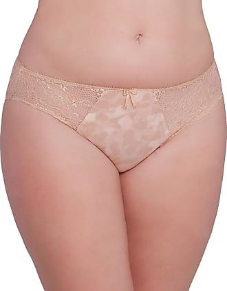 Elomi Womens Morgan Brief, Toasted Almond, Large