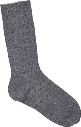 Falke Lhasa Ribbed Socks - Mens - Mid Grey