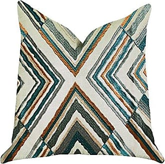 Plutus Brands Crescent Peak Double Sided King Luxury Throw Pillow 20 x 36 Green/Beige/Brown