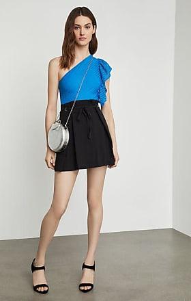 BCBGeneration Tie-Front Mini Skirt