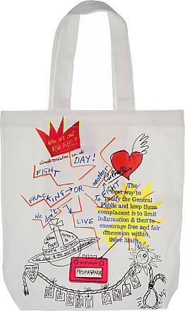 Vivienne Westwood Tote Bag, White, Cotton, 2017, one size