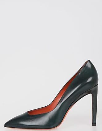 Santoni 11cm Leather Decolletes size 35,5