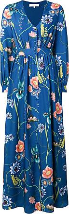 Borgo De Nor floral shirt dress - Azul