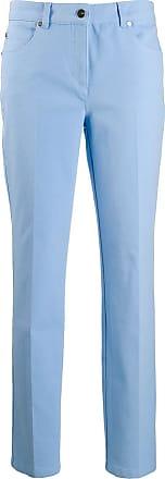 Escada slim fit trousers - Azul