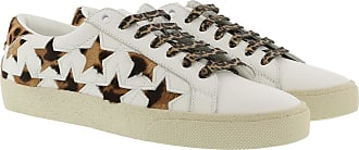 Andy Sneakers Grained LeatherVelvet Optic White