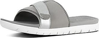 Neoflex TM Grey Fit 57941 Silver EU Slides FemmeMulticoloreSoft SandalsTongs Flop FitFlop 2IYW9EHD
