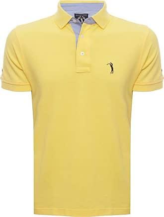Aleatory Camisa Polo Amarela Lisa Aleatory-Amarelo-P