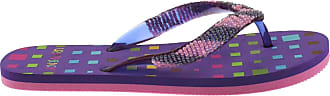Urban Beach Ladies Blocks FW573 Flip Flops UK 3 - UK 8 (UK 5/EU 38, Purple)