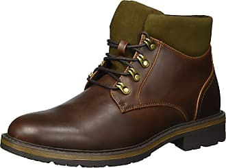 Unlisted by Kenneth Cole Mens BAINX Mid Calf Boot, Brown, 9.5 UK